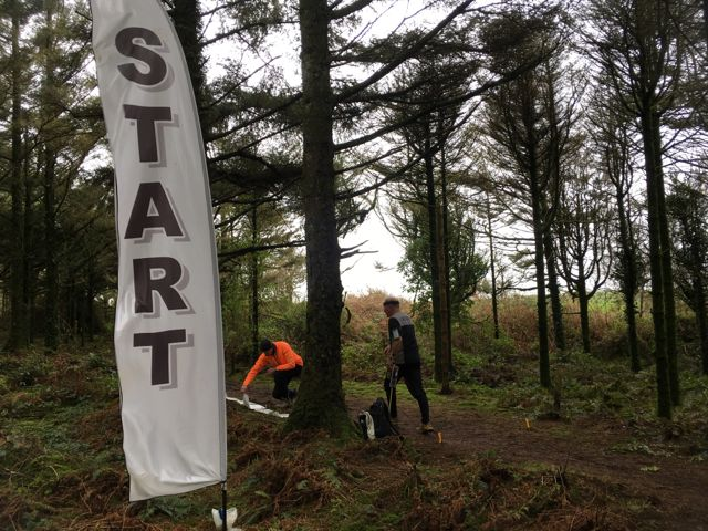 Start flag at Hustyn