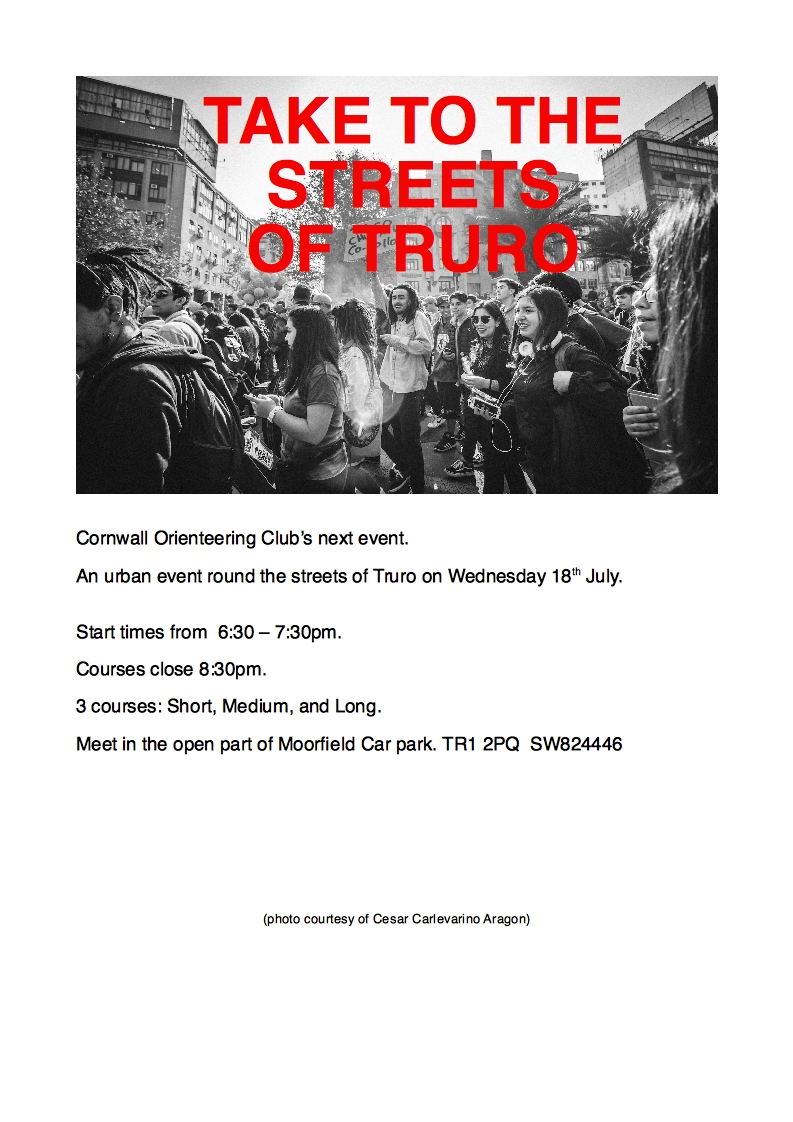 Flyer for Truro