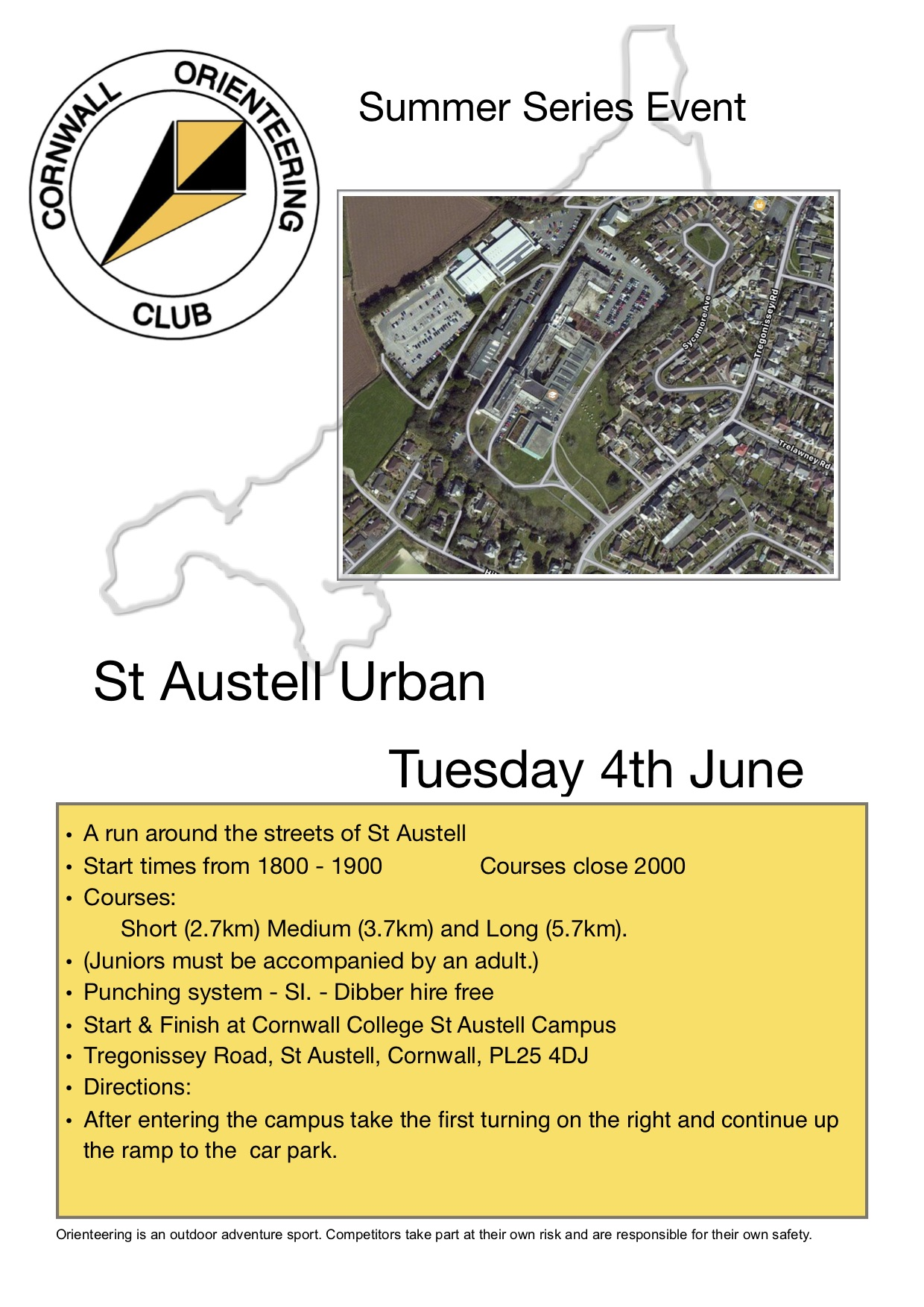 St Austell Summer series flyer
